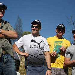 THURSDAY 13TH MAY 2010 / DURBAN SOUTH AFRICA<br /> Member of the Sharks<br /> during the Sharks  off road for the Land rover Experience