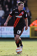 Picture by David Horn/Focus Images Ltd +44 7545 970036.16/03/2013.Tony McMahon of Sheffield Utd during the npower League 1 match at the Lamex Stadium, Stevenage.