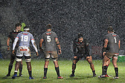 Weather turned during the Guinness Pro 14 2017_18 match between Edinburgh Rugby and Southern Kings at Myreside Stadium, Edinburgh, Scotland on 5 January 2018. Photo by Kevin Murray.
