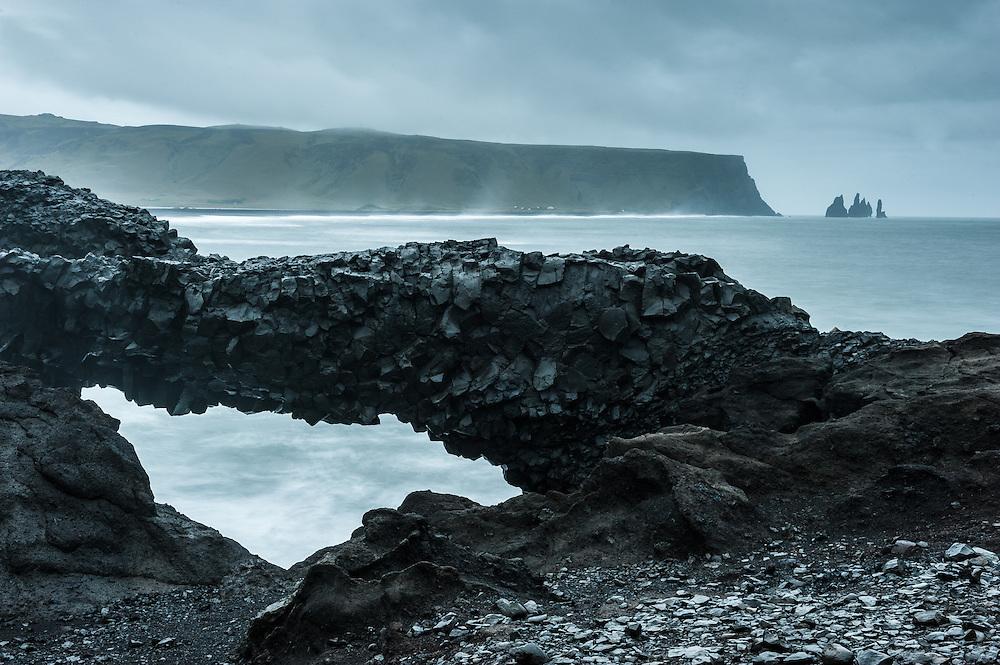 Arch on Dyrholaey, Iceland