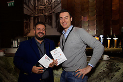 29/10/2015<br /> IAB Conference at the Guinness Storehouse.<br /> (l-r):<br /> Mark Creighton (Accenture) and<br /> Hugh John O'Reilly (Accenture).