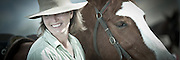 Horsewoman, Hunter Valley, Australia