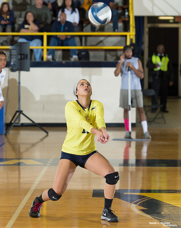 2016 A&T Volleyball vs Savannah State