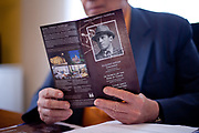 The major of Svitavy holding a brochure about Oskar Schindler in 2012. Oskar Schindler was born 1908 in Svitavy (German: Zwittau) - now located in Czech Republic. Oskar Schindler (28 April 1908  9 October 1974) was an ethnic German industrialist who saved the lives of more then 1000 jews during the 2nd World War. His story became world famous when Steven Spielberg filmed Schindlers story in the movie Schindler's List (Schindler's Ark).