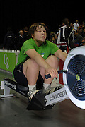 Birmingham, GREAT BRITAIN,  Frank CROSS, competing at the British Indoor Rowing Championships, [BIRC]. [Ergo Championships] National Indoor Arena. West Midlands 18/11/2007 [Mandatory Credit Peter Spurrier/Intersport Image.....