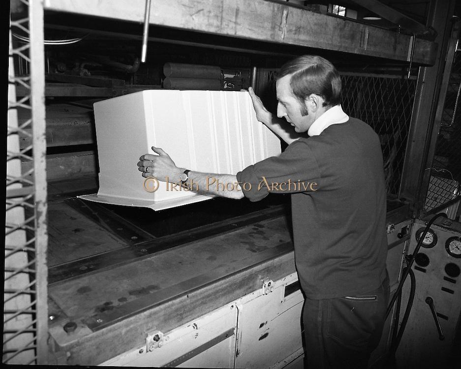 Fridge Production Line at PYE.15/03/1971