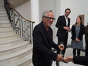 ANISH KAPOOR, Opening of Galerie Thaddaeus Ropac London, Ely House, 37 Dover Street.. Mayfair. London. 26 April 2017.