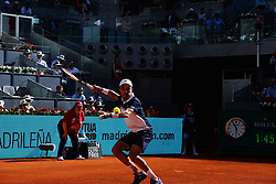 May 7, 2019 - Madrid, Spain - Roberto Bautista (SPA) in his match against David Ferrer (SPA) during day four of the Mutua Madrid Open at La Caja Magica in Madrid on 7th May, 2019. (Credit Image: © Juan Carlos Lucas/NurPhoto via ZUMA Press)