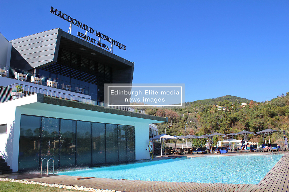 The five-star luxury hotel in southern Portugal owned by Macdonald Hotels of Scotland was evacuated as fire swept through the nearby forests where former PM David Cameron stays in a holiday home, pic copyright Terry Murden @edinburghelitemedia