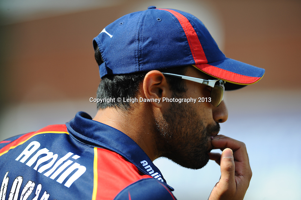 "Ravi Bopara of Essex during the Friends LIfe T20 match between Essex ""Eagles & Sussex ""Sharks"" at the Essex County Cricket Club ground, Chelmsford on 14th July 2013. Credit: Leigh Dawney. Tel 07812 790920. Self billing applies. © Leigh Dawney Photography 2013"