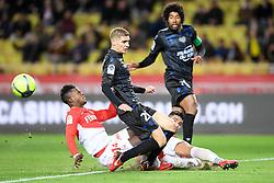 January 16, 2018 - Monaco, France - 14 KEITA BALDE (mon) - 20 NICOLAS MARCHAND  (Credit Image: © Panoramic via ZUMA Press)