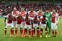 team of Standard Liege  pictured during play offs champions league match between Standard of Liege and FC Zenit Saint Pertersburg 20 august 2014<br />