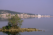 Argostoli seen from the Salt Lake, Kefalonia Greece....travel, lifestyle