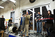 Dende Macedo, Tiago Garcia, Marcelo Buby, Benhur Oliveira and Mamiko Watanab is performing in the launch party, Rocking the Boat, Hunts Point, Dec.13, by Qingqing Chen