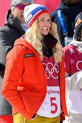 February 19, 2018 - Pyeongchang, SOUTH KOREA - 180219 Silje Norendal of Norway after the Women's Big Air Qualification during day ten of the 2018 Winter Olympics on February 19, 2018 in Pyeongchang..Photo: Carl Sandin / BILDBYRN / kod CS / 57999_306 (Credit Image: © Carl Sandin/Bildbyran via ZUMA Press)