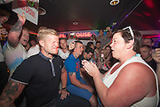 EXCLUSIVE<br /> <br /> White dee attends Carnage Bar Crawl in  Magaluf<br /> ©Exclusivepix