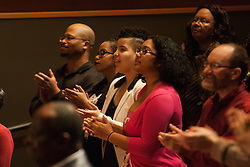 PLU hosts a Gospel Experience in celeberation of Black History Month on Saturday, Feb. 20, 2016. Performances by Erica Walker, Anointed Brothers, Pleasant Movement Dance Company, special guest DaNell Daymon & the Greater Works Chorale, and PLU's own Gospel Choir! (Photos/ Angelo Mejia '17)