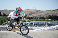 Men Elite #179 (MARQUART Simon M.) SUI the 2018 UCI BMX World Championships in Baku, Azerbaijan.
