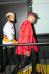September 12, 2018 - New York, New York, United States - Odell Beckham attends Calvin Klein show during New York Fashion Week on September 11, 2018 in New York City. (Credit Image: © Oleg Chebotarev/NurPhoto/ZUMA Press)