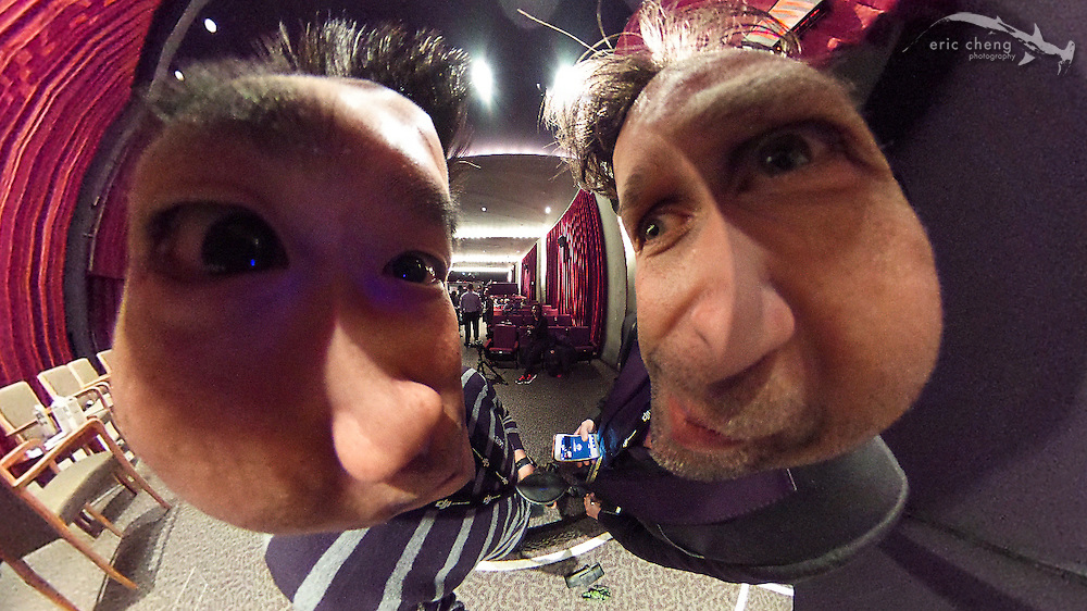 This is what happens if you shoot in 360 really, really close (with Philip Bloom)