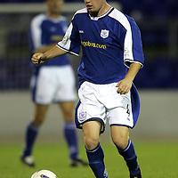 Stevie McManus, St Johnstone FC   Season 04-05<br /><br />Picture by Graeme Hart.<br />Copyright Perthshire Picture Agency<br />Tel: 01738 623350  Mobile: 07990 594431