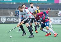 AMSTELVEEN - Mirco Pruyser (Adam)  tijdens de hoofdklasse competitiewedstrijd mannen, Amsterdam-HCKC (1-0).  COPYRIGHT KOEN SUYK