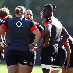 Maro Itoje of England during the England Rugby training session at  Jonsson Kings Park Stadium,Durban.South Africa. 19,06,2018 Photo by (Steve Haag JMP)