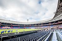 ROTTERDAM - Laatste training voor de Klassieker van Feyenoord , Voetbal , Eredivisie , Seizoen 2016/2017 , Stadion de Kuip , 22-10-2016 , Overzicht tijdens opkomst van de spelers