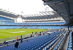 A general view of The Etihad Stadium before the Barclays Premier League clash between Manchester City and Hull City - Photo mandatory by-line: Matt McNulty/JMP - Mobile: 07966 386802 - 07/02/2015 - SPORT - Football - Manchester - Etihad Stadium - Manchester City v Hull City - Barclays Premier League
