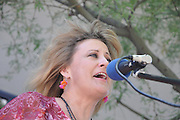 JC & Laney compete in the Songwriting Contest at the 2012 Tucson Folk Festival.