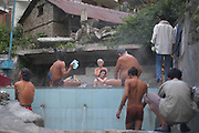India, Vashisht near Manali, Kullu District, Himachal Pradesh, Northern India, public hot baths
