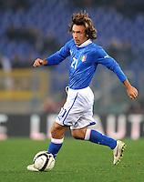 Fussball International, Nationalmannschaft   EURO 2012 Play Off, Qualifikation, Italien - Uruguay      15.11.2011 Andrea Pirlo (Italien)