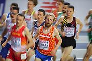 Benjamin de Haan (Netherlands), Men's 300m, during the European Athletics Indoor Championships 2019 at Emirates Arena, Glasgow, United Kingdom on 1 March 2019.