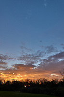 Autumn Sunrise Panorama. Four of seven images taken with a Leica CL camera and 18 mm f/2.8 lens (ISO 200, 18 mm, f/11, 1/60 sec).