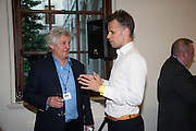JAMES HUGHES-ONSLOW; RICHARD BACON, STREETSMART RAISES RECORD-BREAKING £805,000 TO TACKLE HOMELESSNESS. Celebrate with a drinks party at the Cabinet Office. Horse Guards Rd. London. 13 May 2013.