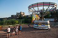 Castelnuovo di Porto, 24/06/2020: Parco giochi riapre dopo l'emergenza Covid 19.<br /> © Andrea Sabbadini
