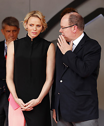 May 26, 2019 - Monte Carlo, Monaco - Motorsports: FIA Formula One World Championship 2019, Grand Prix of Monaco, ..Princess Charlene of Monaco and Prince Albert II of Monaco  (Credit Image: © Hoch Zwei via ZUMA Wire)