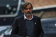 Phillip Cocu of Derby County during the EFL Sky Bet Championship match between Nottingham Forest and Derby County at the City Ground, Nottingham, England on 9 November 2019.