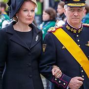 LUX/Luxemburg/20190504 -  Funeral<br /> of HRH Grand Duke Jean, Uitvaart Groothertog Jean, Koning Philppe, Koningin Mathilde en dochter prinses Elisabeth van Belgie