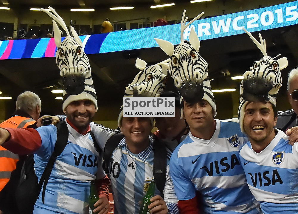 Fijinfans in a colourful mood ahead of kick off (c) Simon Kimber | SportPix.org.uk