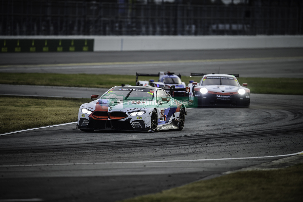 January 27, 2018 - Daytona, FLORIDE, ETATS UNIS - 25 BMW TEAM RLL (USA) BMW M8 GTLM BMW GTLM ALEXANDER SIMS (GBR) CONNOR DE PHILLIPPI (USA) BILL AUBERLEN (USA) PHILIPP ENG  (Credit Image: © Panoramic via ZUMA Press)