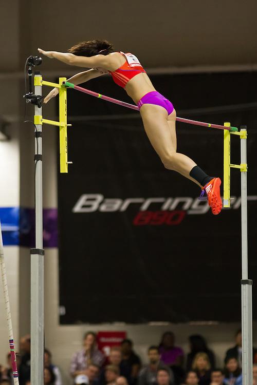 Jenn Shur, American record pole vault