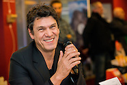 Marc Lavoine presents his new book in Brussels