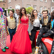 NLD/Amsterdam/20170925 - Presentatie A Christmas Carol 2017, Martijn Fischer, Danny de Munk, Glennis Grace, Yolanthe Cabau van Kasbergen, Buddy Vedder en Holly Mae Brood