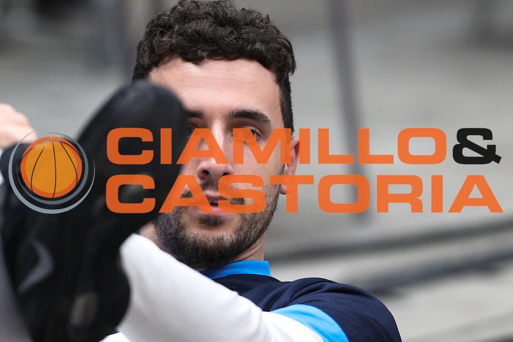 Gaspardo Raphael, EA7 Emporio Armani Milano vs Vanoli Cremona LBA Serie A 8^ giornata di ritorno stagione 2016/2017 Mediolanum Forum Assago, Milano 19/03/2017