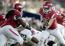 Arkansas vs. Texas A&M in the Southwest Classic at AT&T Stadium in Arlington, Texas, Saturday September 26, 2015.
