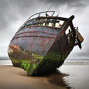 Wreck of the 'co-worker' Ettrick bay, Isle of Bute