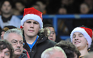 Fans of of Hull City during the Sky Bet Championship match at Elland Road, Leeds<br /> Picture by Graham Crowther/Focus Images Ltd +44 7763 140036<br /> 05/12/2015