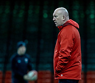 Shaun Edwards, Defence Coach of Wales<br /> <br /> Photographer Simon King/Replay Images<br /> <br /> Six Nations Round 5 - Wales v Ireland Captains Run - Saturday 15th March 2019 - Principality Stadium - Cardiff<br /> <br /> World Copyright © Replay Images . All rights reserved. info@replayimages.co.uk - http://replayimages.co.uk