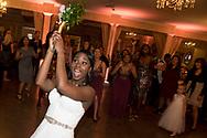 David Steadmon and Monique Thompson's wedding in Anaheim, Calif., on Friday, October 27, 2017.